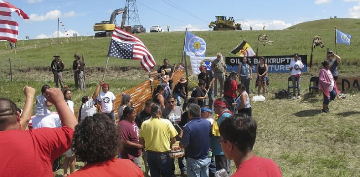 Rally in North Dakota Aims to 'Stop' Lewis and Clark